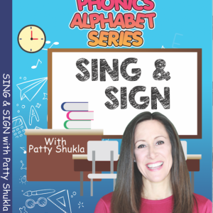 DVD Phonics Alphabet with Patty Shukla