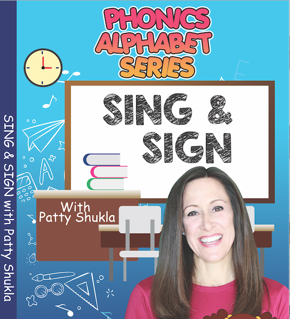 DVD Phonics Alphabet with Patty Shukla