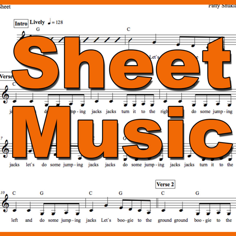 Five Airplanes Sheet Music